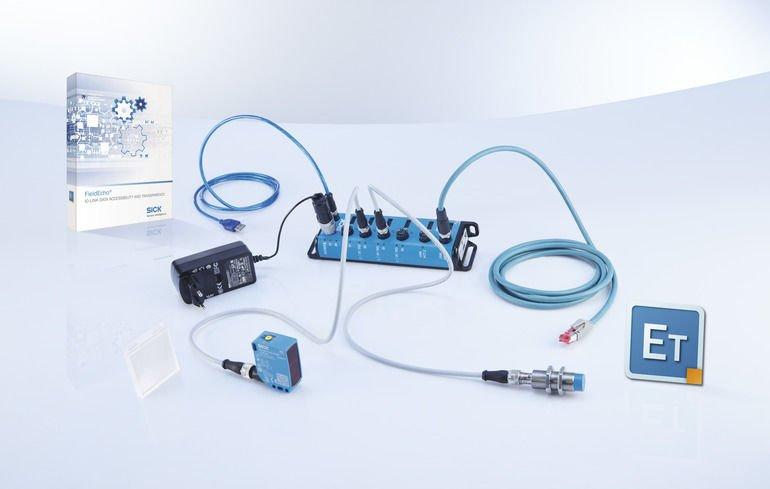 sick Softwaretool Integration IO-Link-Geräte