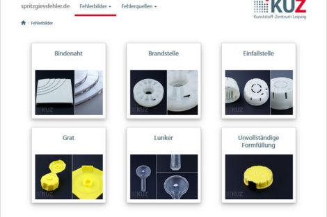 Software des Kunststoff-Zentrum Leipzig um Fehler im Spritzguß zu identifizieren