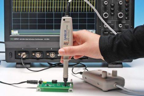 Strommessung Telemeter electronic Tastkopf