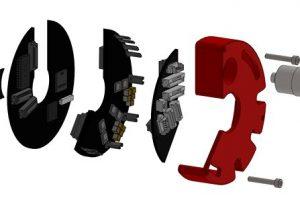 Kreisrunde Hohlwellen-Servoantriebe
