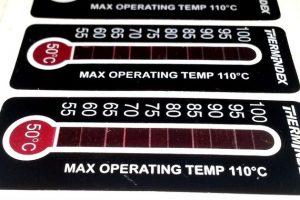 Temperatur-Messstreifen Kager