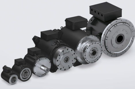 Torquemotoren-Baumüller