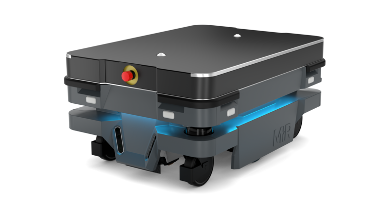 Transportroboter MiR250 Mobile Industrial Robots MiR Shelf Carrier