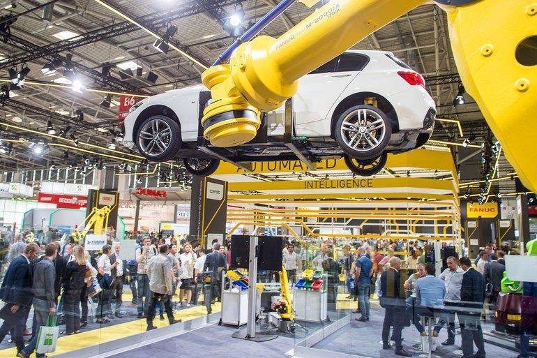 Trendindex Robotik Messe München automatica