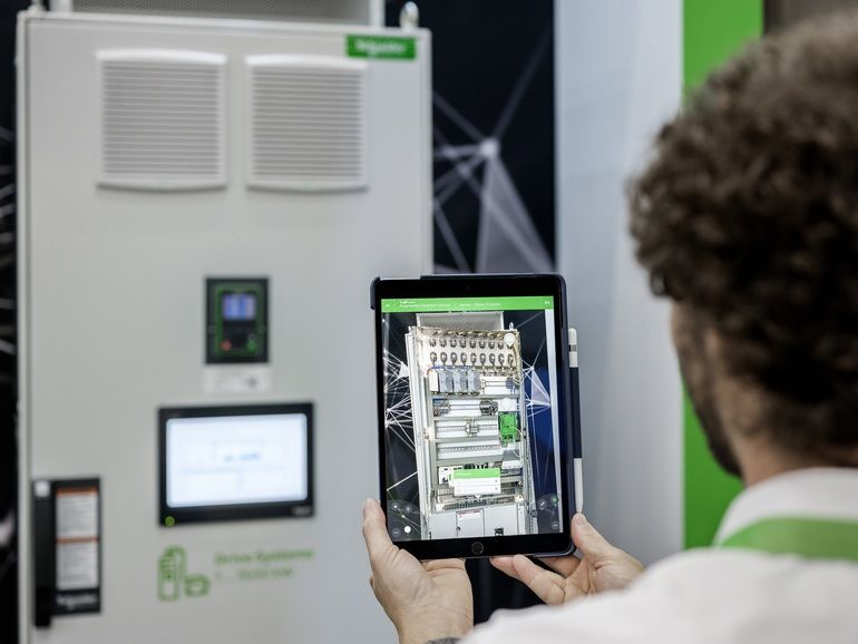 Visualisierungs-Tool-Schneider-Electric-Augemnted-Reality