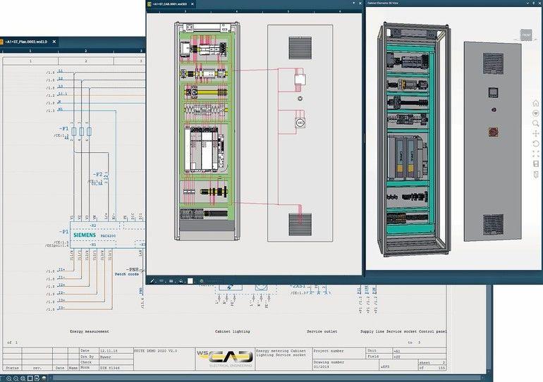 WSCAD E-CAD Suite X sps 2019 ws cad
