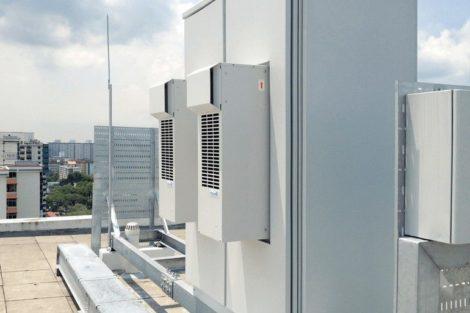 Wärmemanagement Pfannenberg DTS 3000 Serie Singapur Outdoor-Kühlgeräte