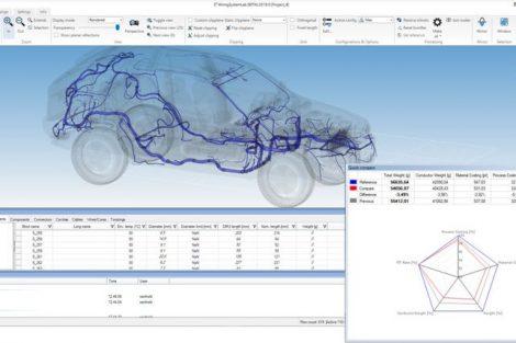 Optimierung von Kabelbaumdesigns