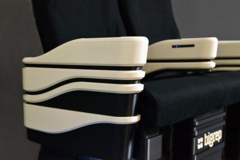 3D-gedruckter Flugzeugsitze