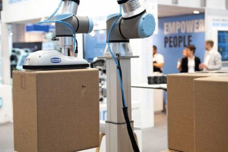 hannover messe amd Mensch-Roboter-Kollaboration Cobots