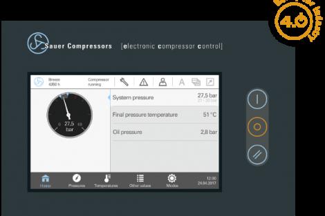 Kompressorsteuerung Sauer ecc 4.0