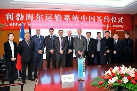 Liebherr in China