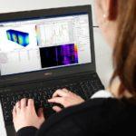 Beeindruckende 3D-Modellierung: Blick auf den Bildschirm