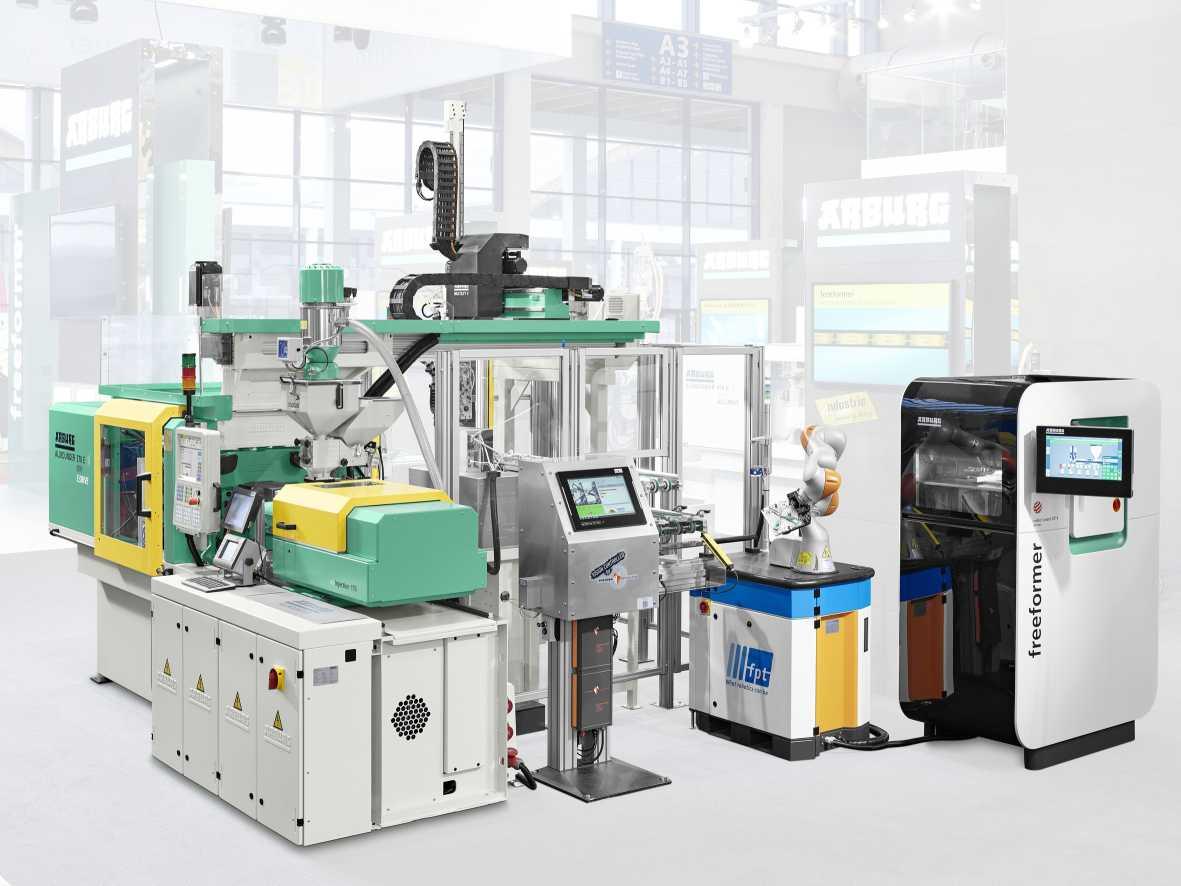 Der Freeformer Automation von Arburg